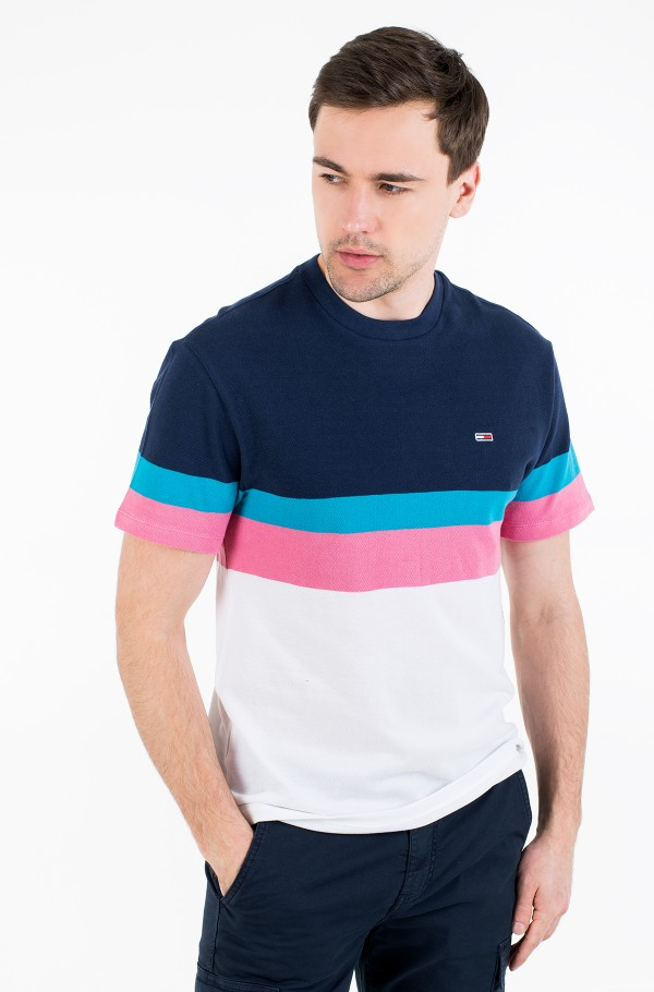 TJM GRAPHIC COLORBLOCK TEE