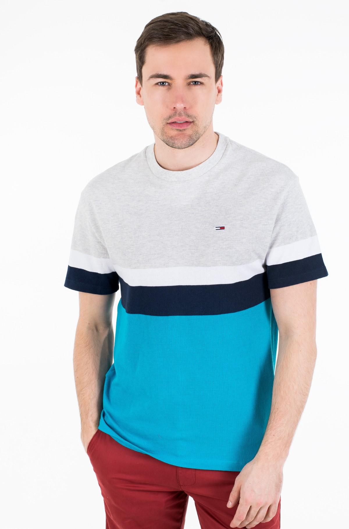 Marškinėliai TJM GRAPHIC COLORBLOCK TEE-full-1