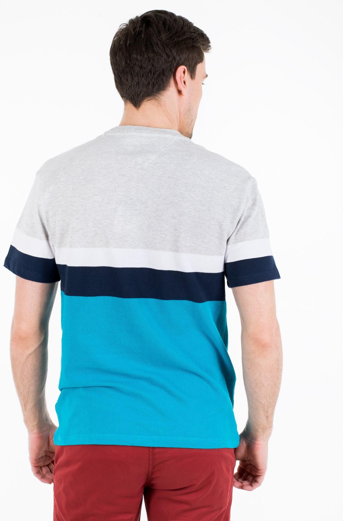 Marškinėliai TJM GRAPHIC COLORBLOCK TEE-full-2