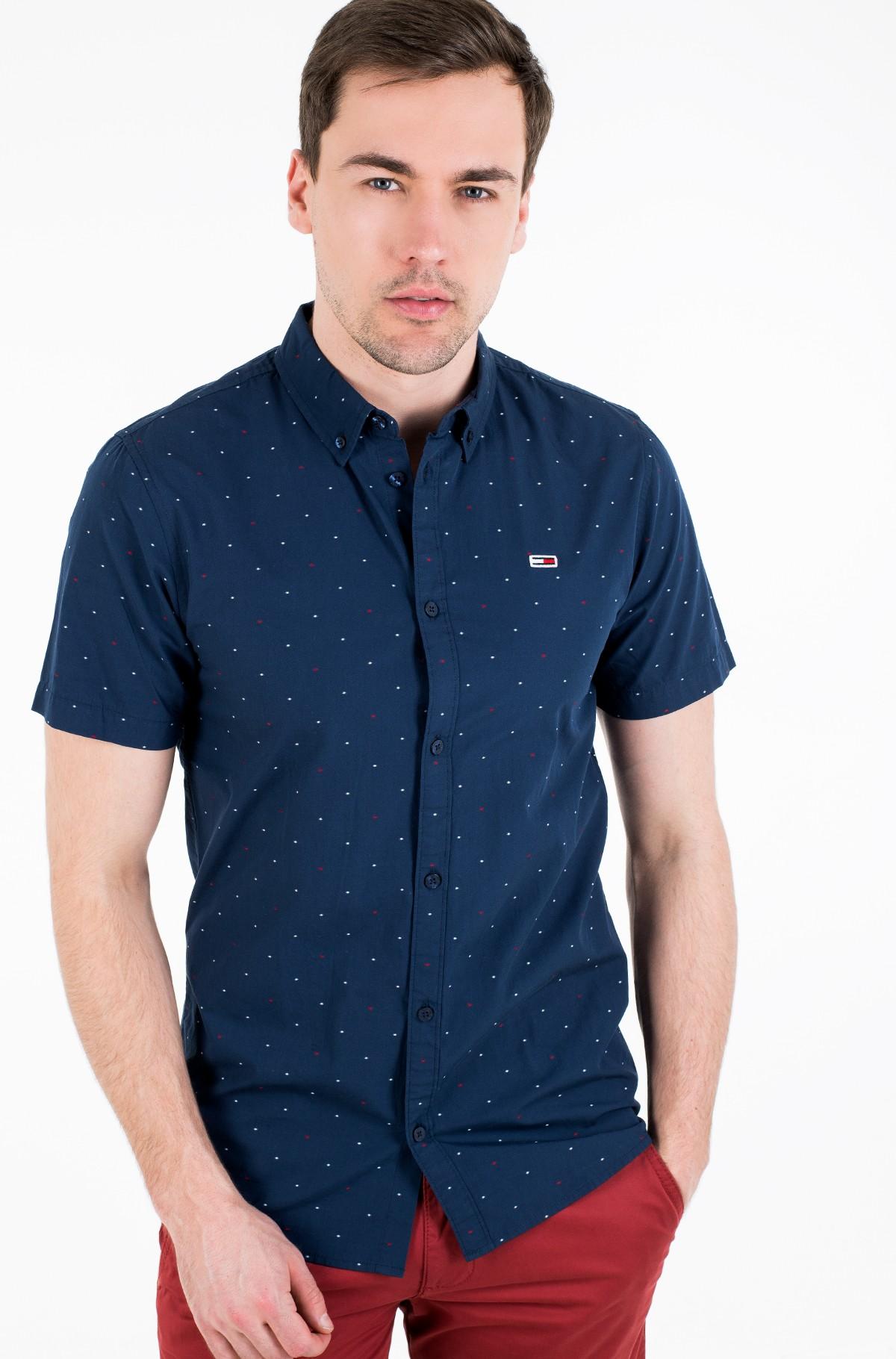 Short sleeve shirt TJM SHORTSLEEVE DOBBY SHIRT-full-1