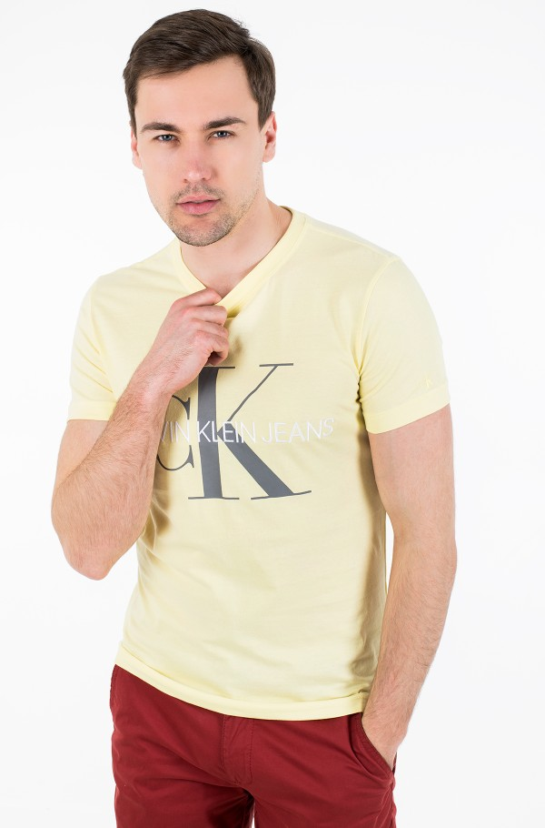 VEGETABLE DYE MONOGRAM SLIM TEE