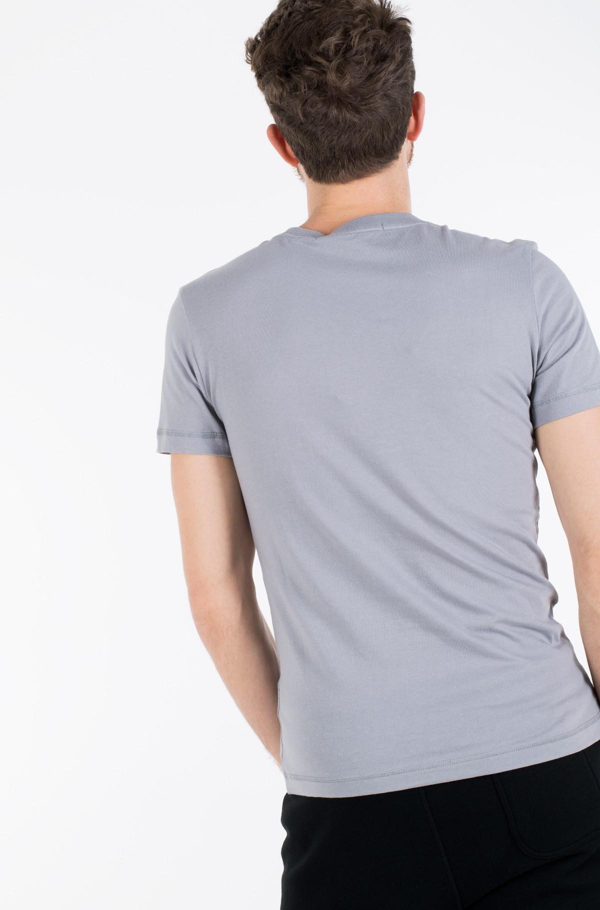 Marškinėliai VEGETABLE DYE MONOGRAM SLIM TEE-full-2
