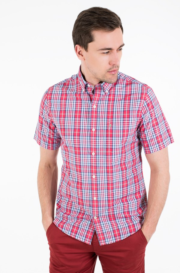 BREEZE PLAID SS BD SHIRT