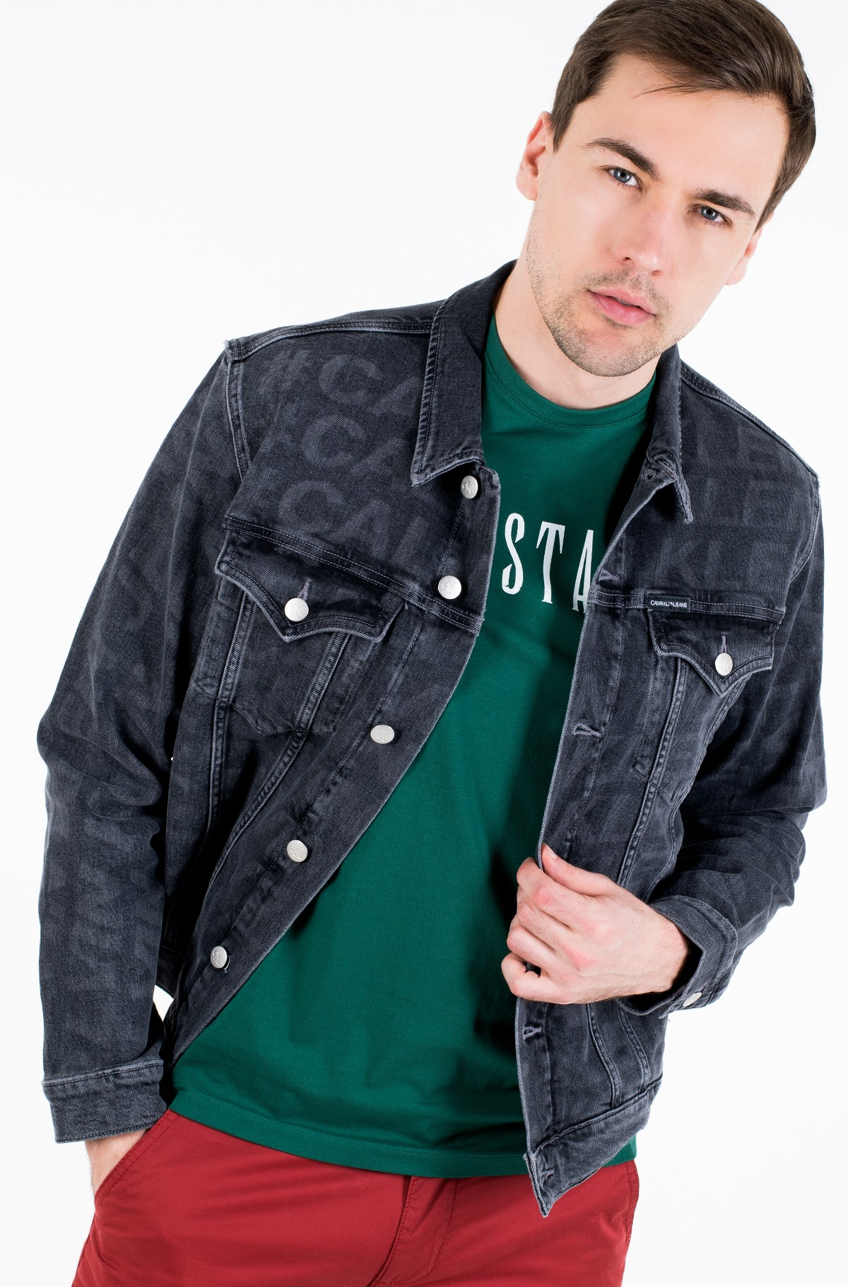 Teksatagi FOUNDATION SLIM DENIM JACKET-full-1