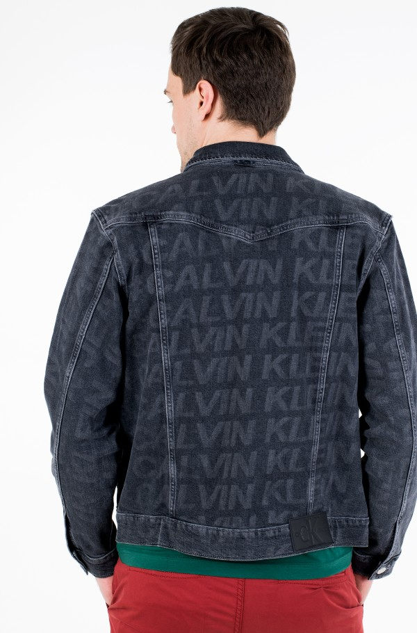 FOUNDATION SLIM DENIM JACKET-hover