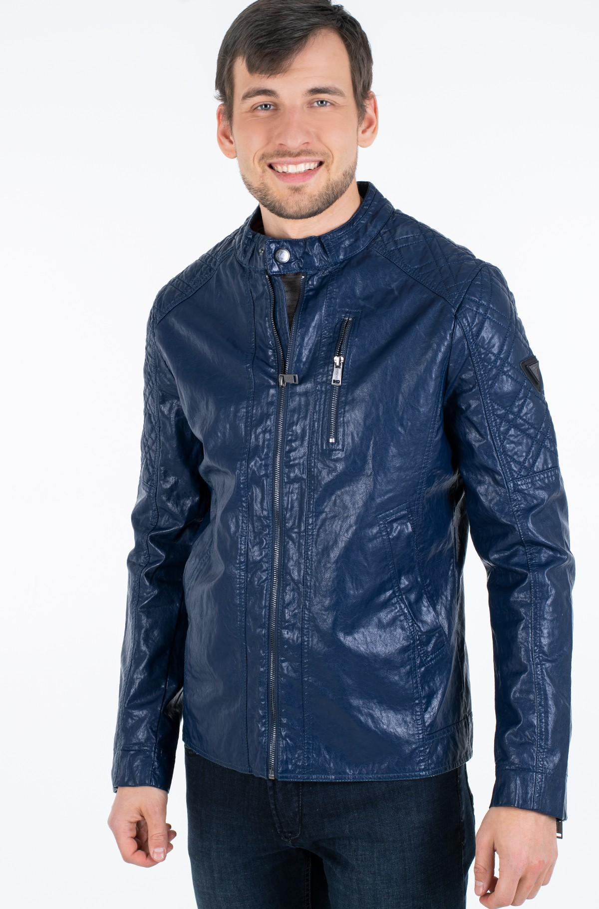 Leather jacket M02L46 WCQD0-full-1