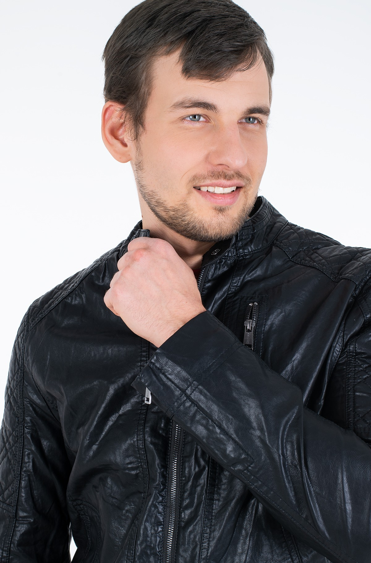 Leather jacket M02L46 WCQD0-full-3