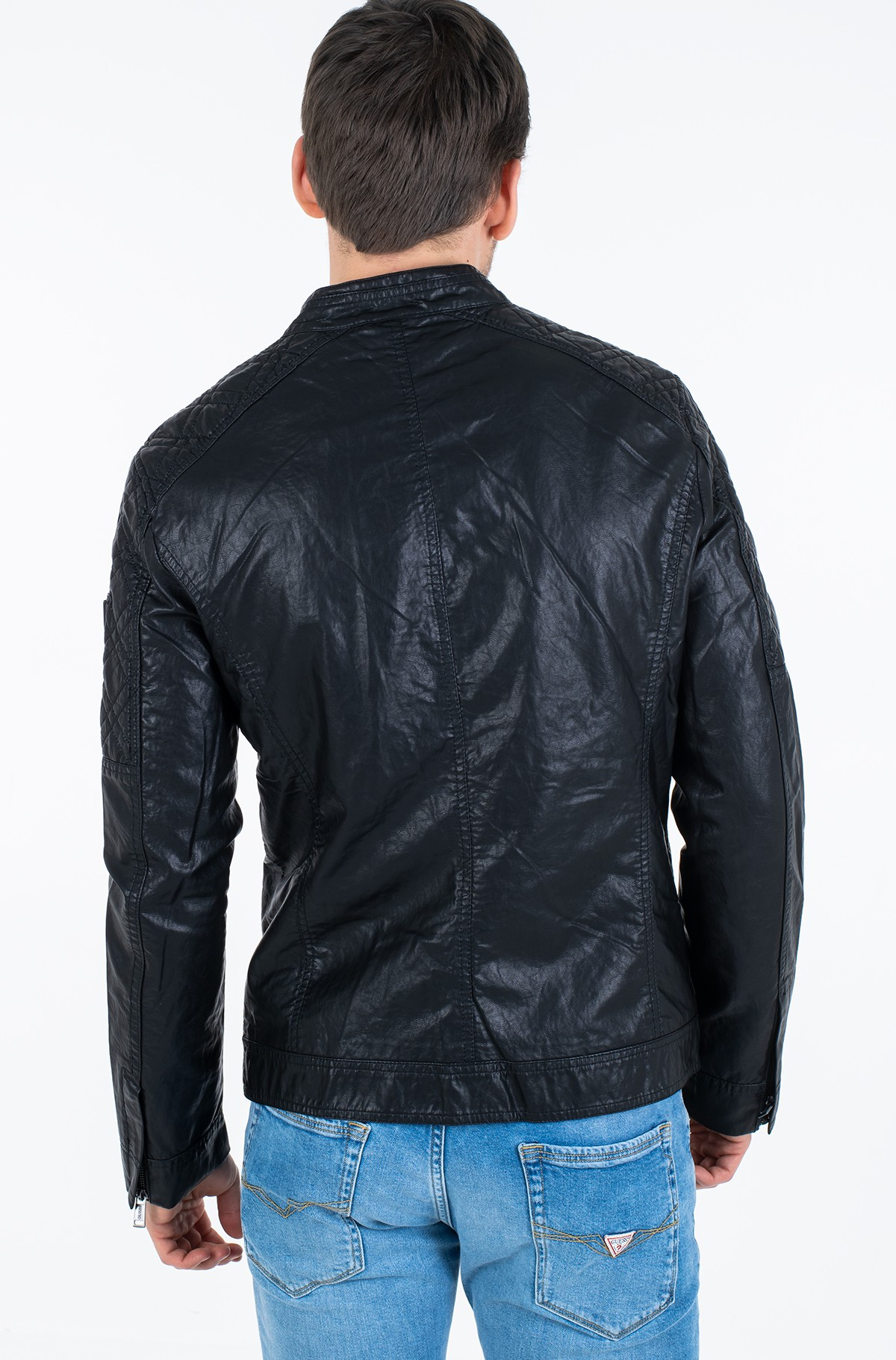 Leather jacket M02L46 WCQD0-full-4