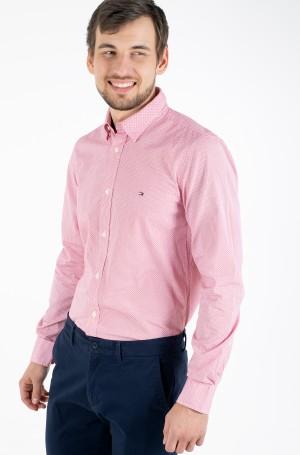 Marškiniai SLIM SOFT GEO PRINT SHIRT-1