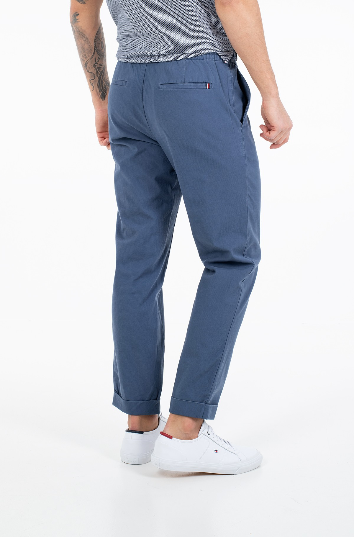 Fabric trousers ACTIVE STRUCTURE PANT GMD FLEX-full-2