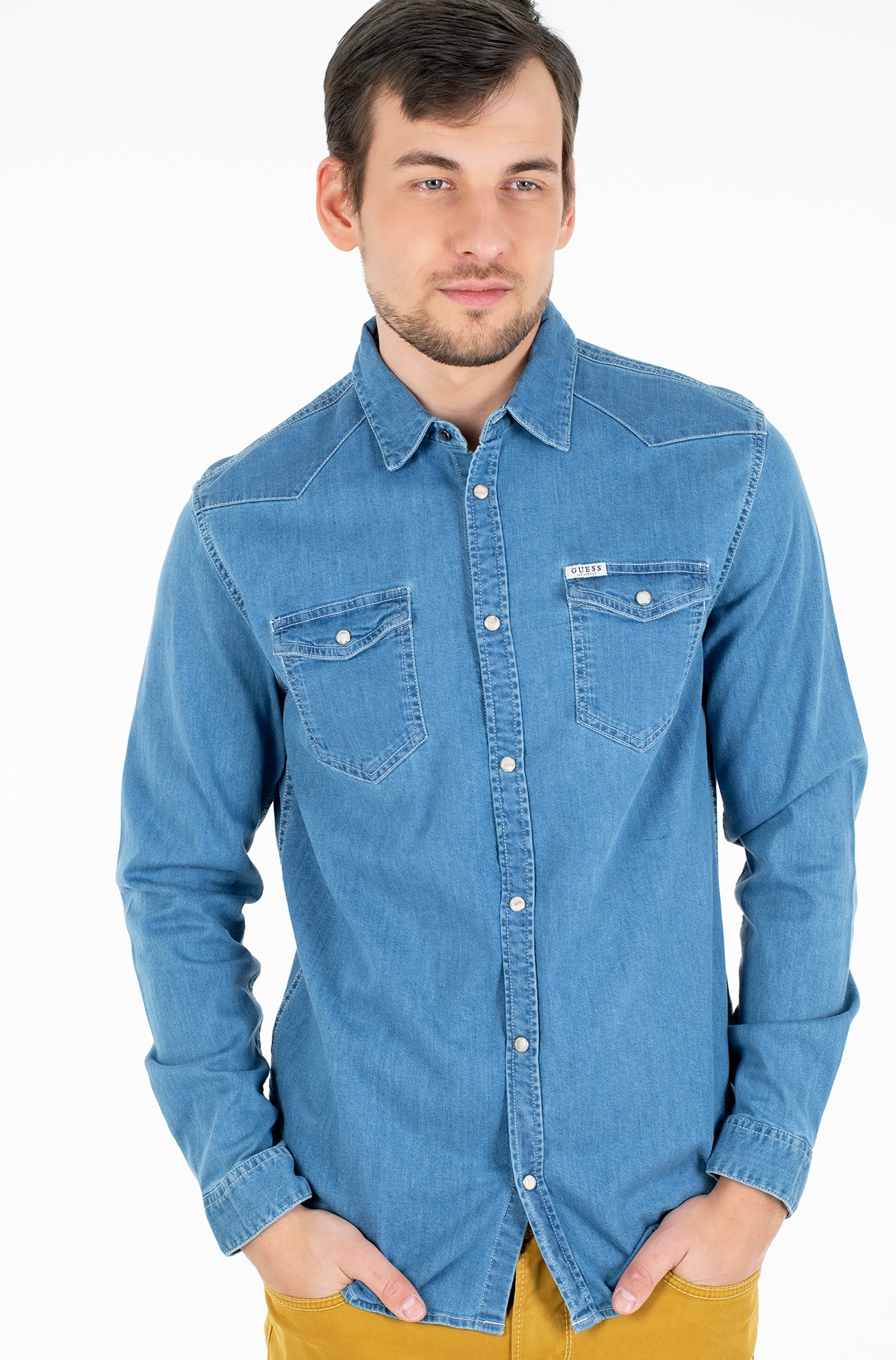 Denim shirt  M02H02 D3YN2-full-1