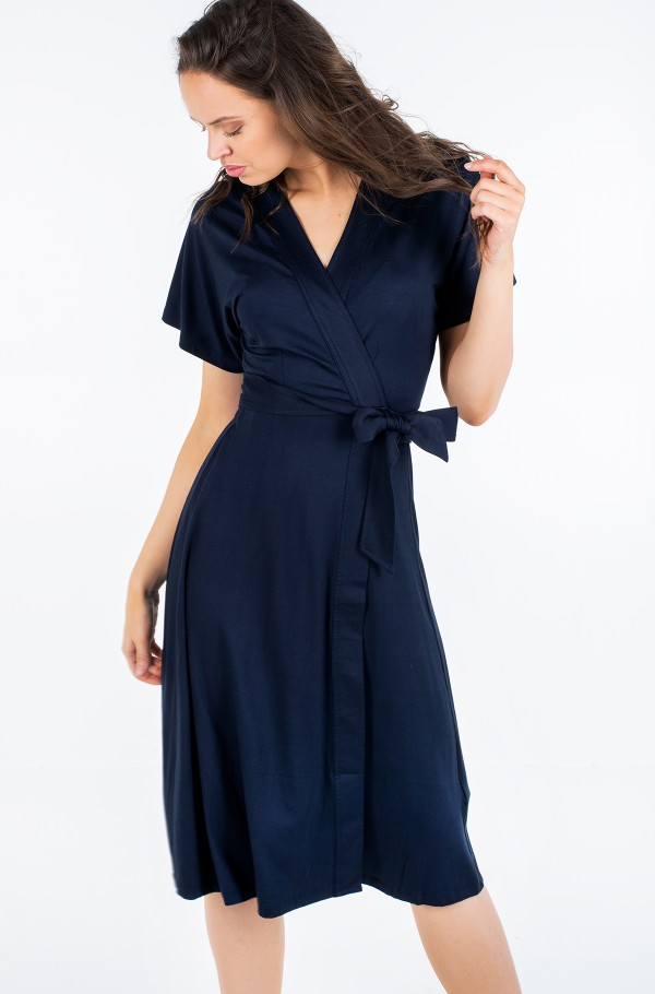 ALANA REGULAR WRAP DRESS SS