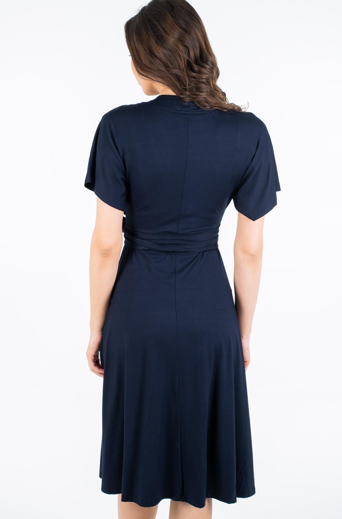 Dress ALANA REGULAR WRAP DRESS SS-full-2