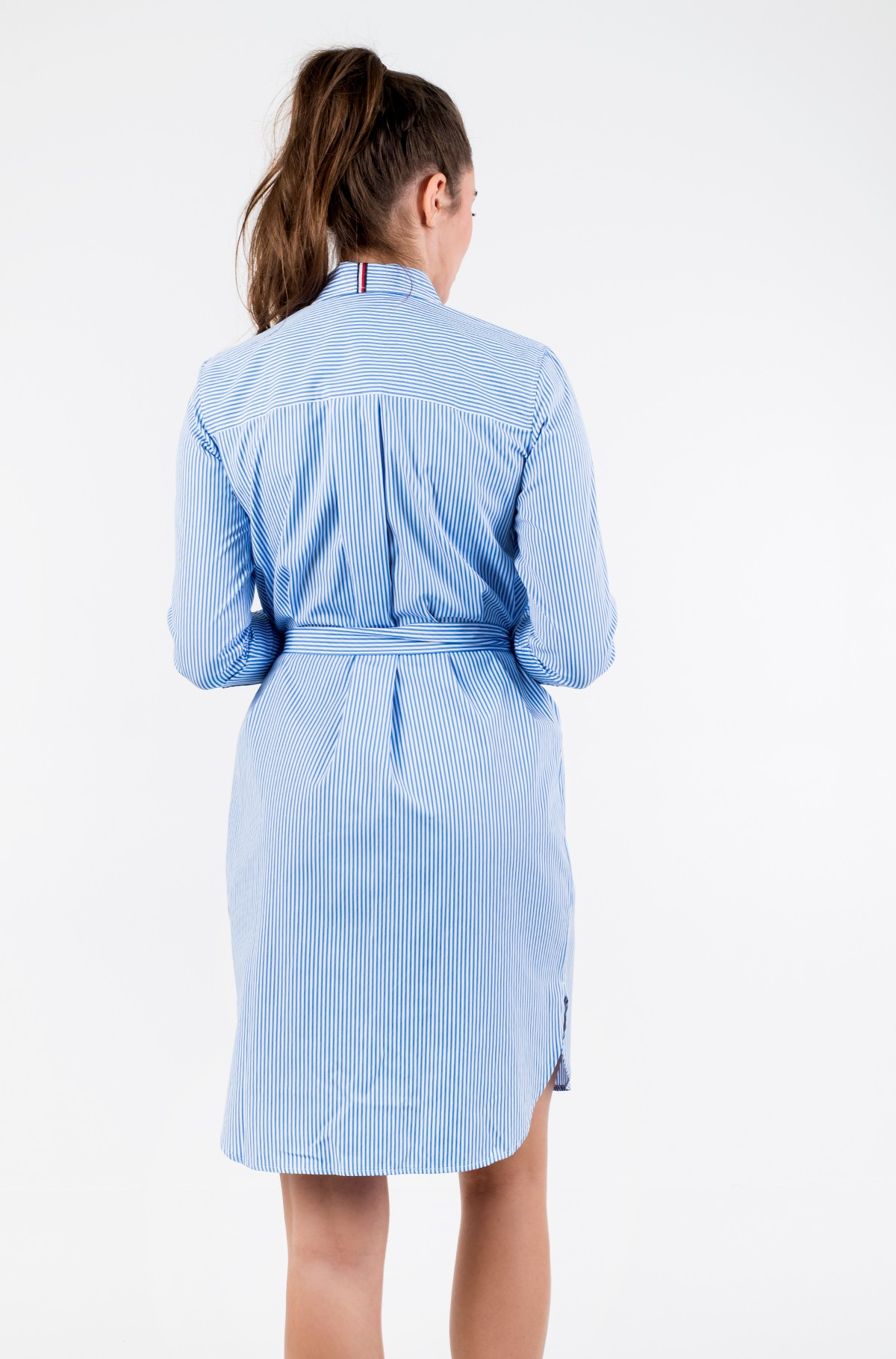 Suknelė TH ESSENTIAL SHIRT DRESS LS-full-3