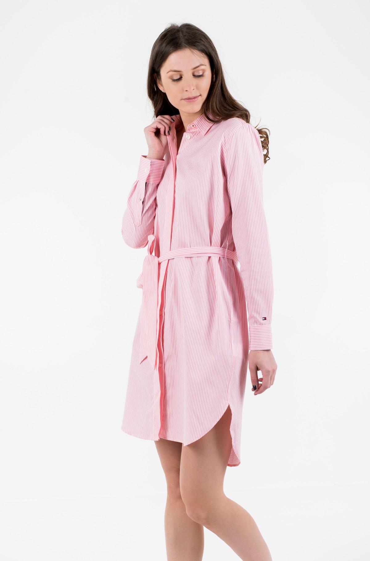 Suknelė TH ESSENTIAL SHIRT DRESS LS-full-1