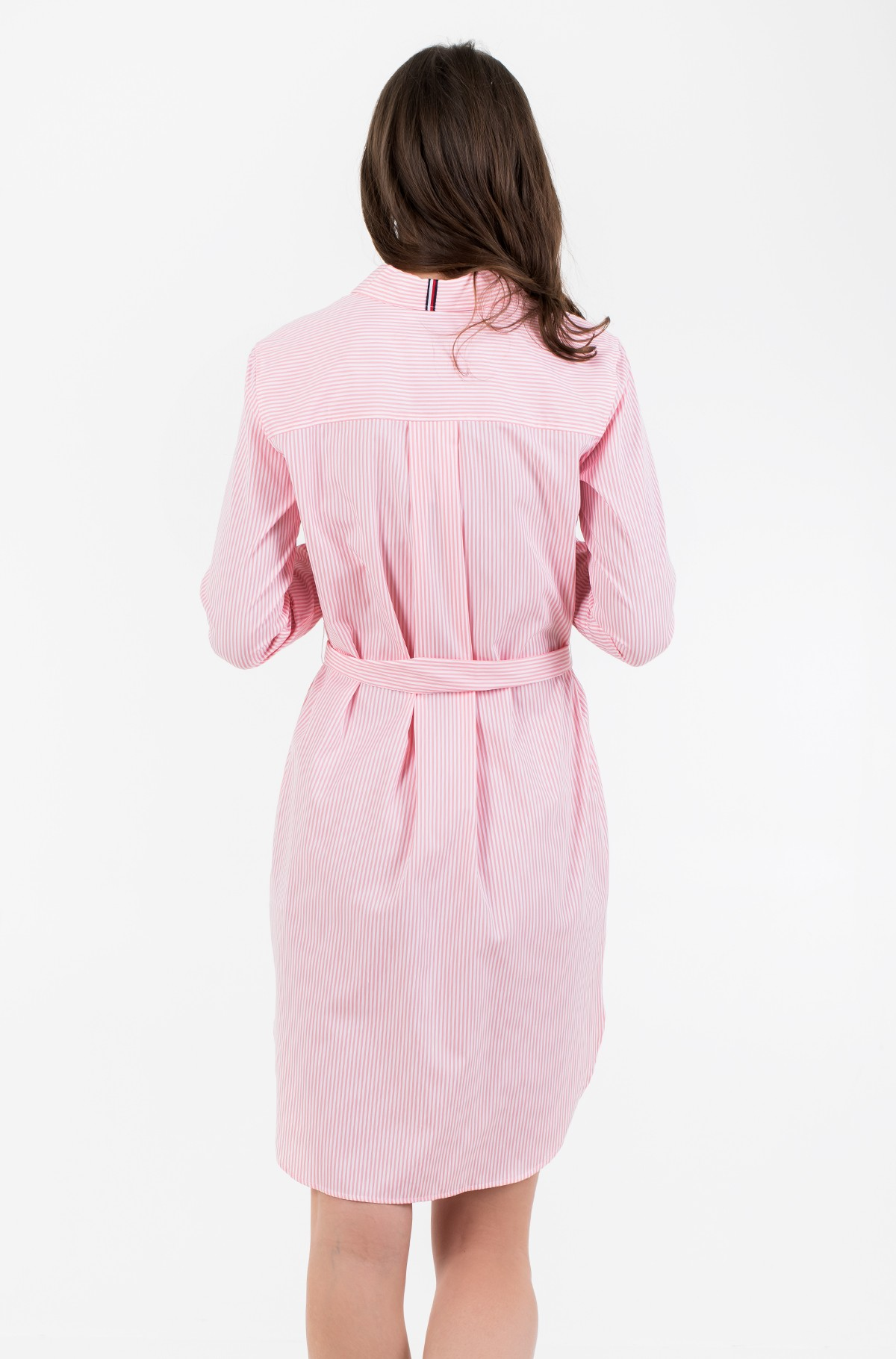 Suknelė TH ESSENTIAL SHIRT DRESS LS-full-2