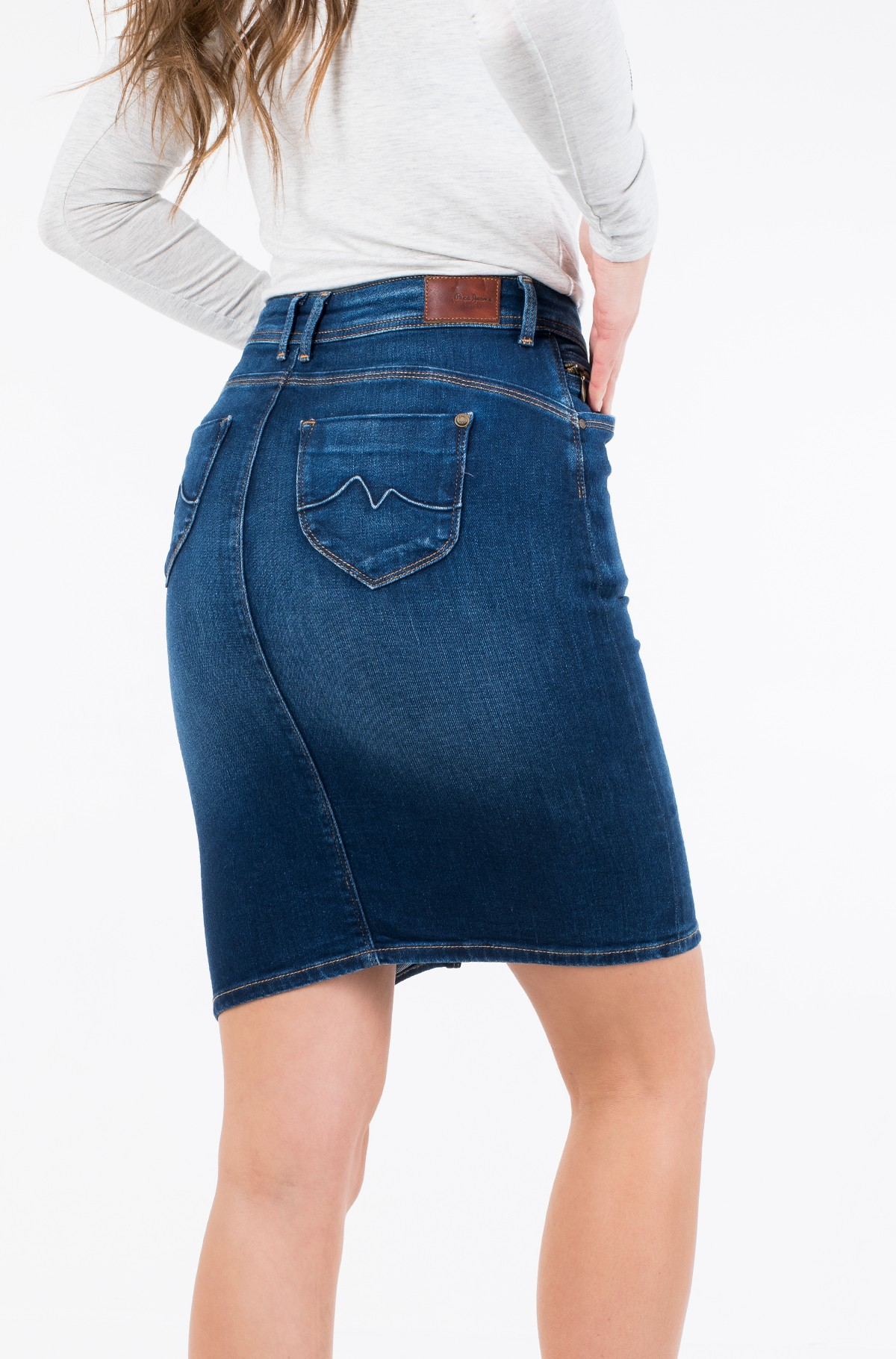 Denim skirt  TAYLOR/PL900443DB4-full-2