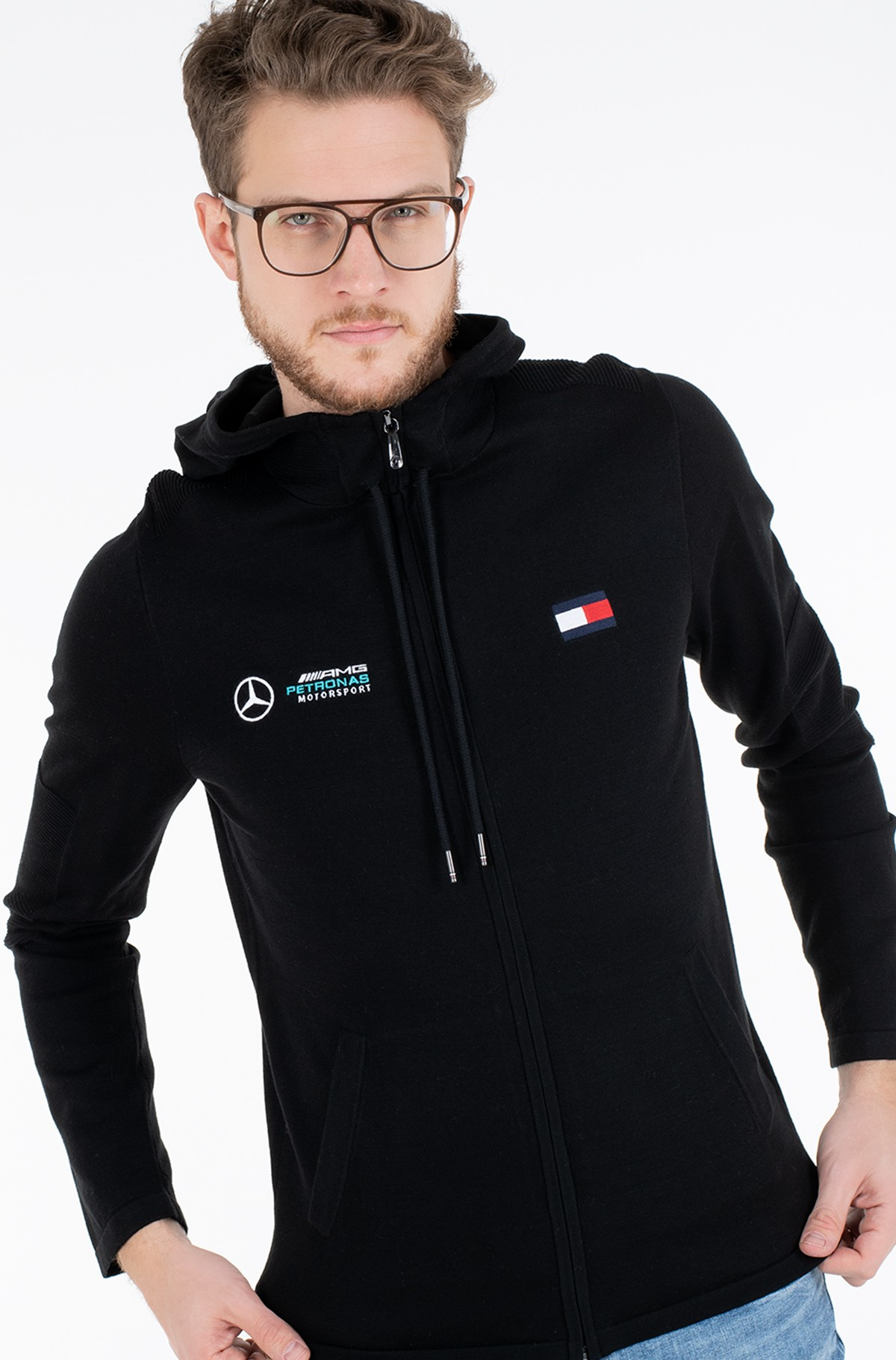 Dressipluus 1 MB TECH HOODED ZIP THRU-full-1