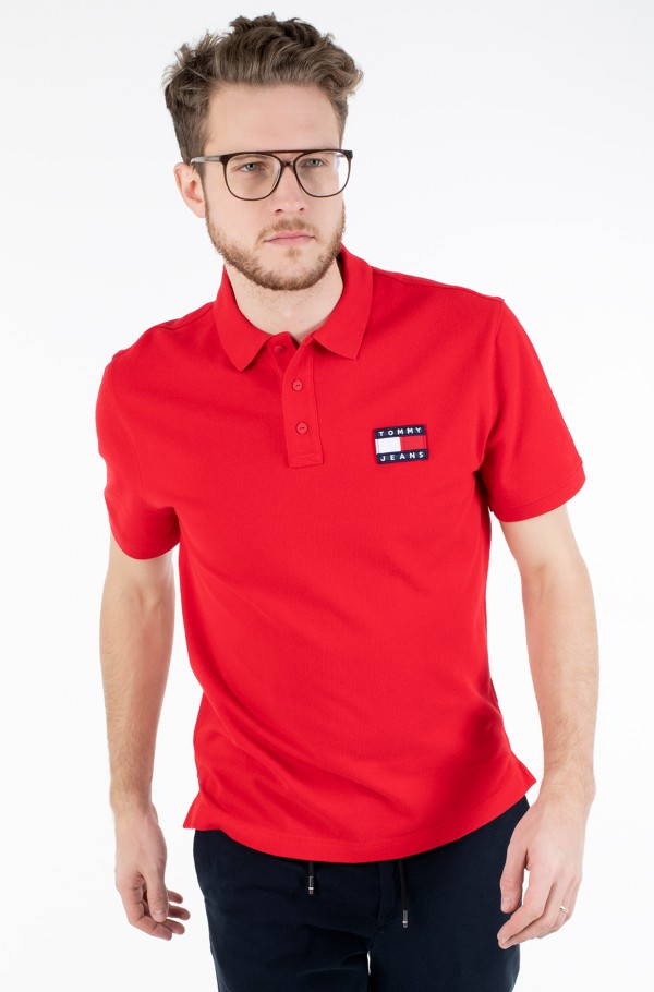 TJM TOMMY BADGE POLO