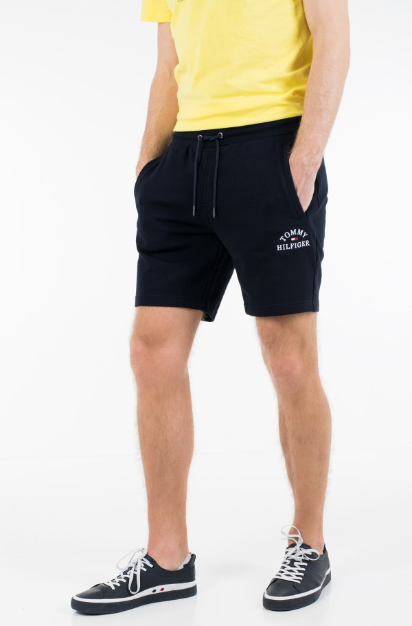 BASIC EMBROIDERED SWEATSHORT