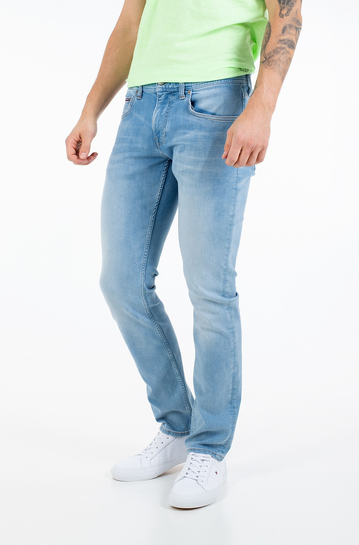 Džinsinės kelnės STRAIGHT DENTON PSTR HUBER BLUE-full-1