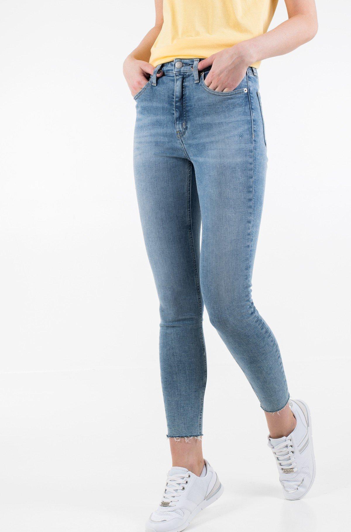 Džinsinės kelnės HIGH RISE SUPER SKINNY ANKLE-full-1