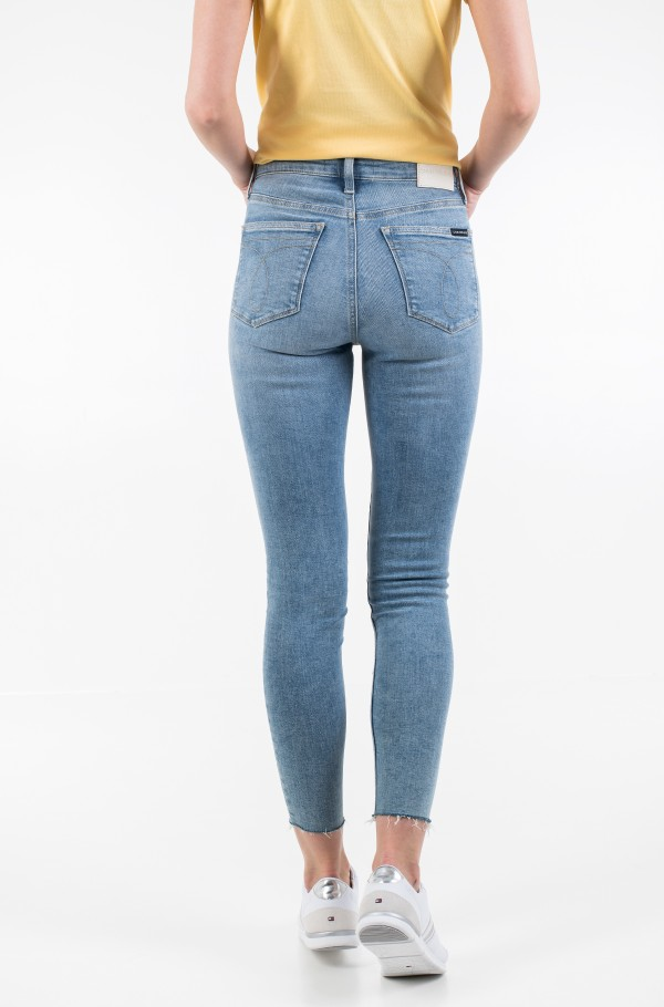 HIGH RISE SUPER SKINNY ANKLE-hover
