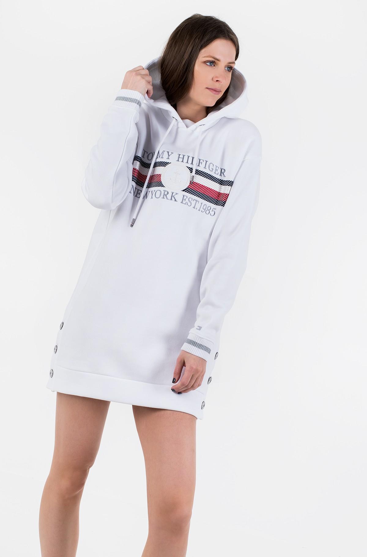 Sweatshirt dress ICON HOODED DRESS LS-full-1