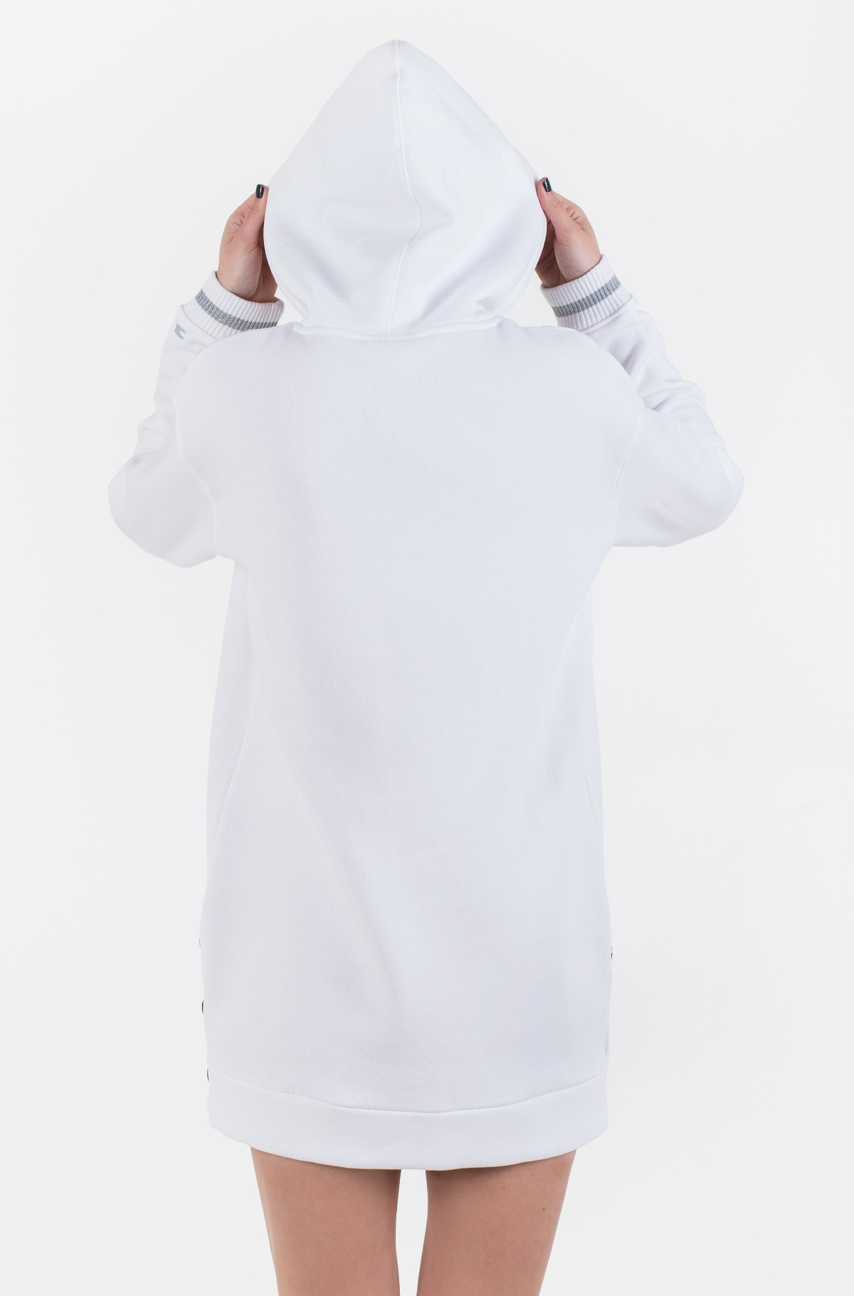 Sweatshirt dress ICON HOODED DRESS LS-full-2