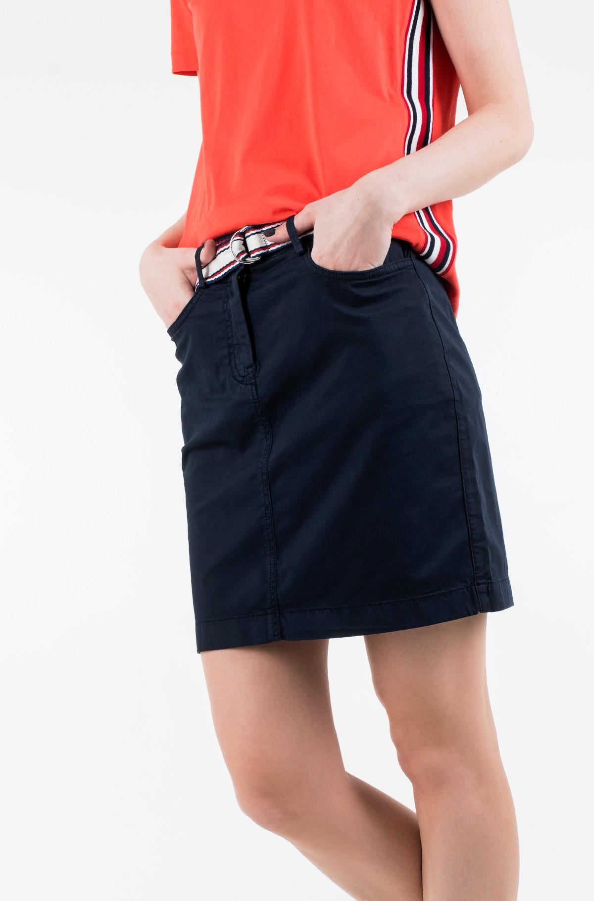 Skirt GMD COTTON TENCEL SLIM SKIRT-full-1