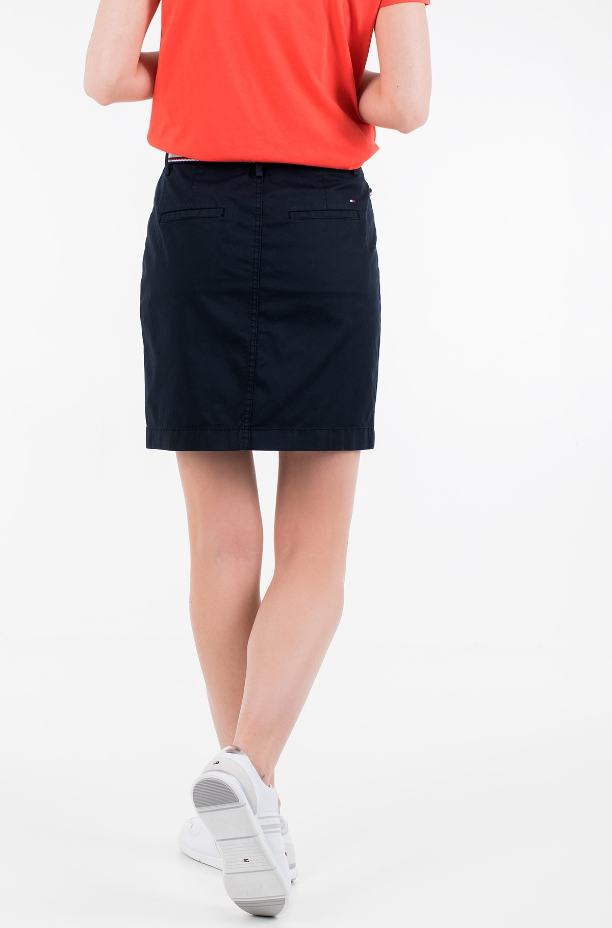 Sijonas GMD COTTON TENCEL SLIM SKIRT-full-2