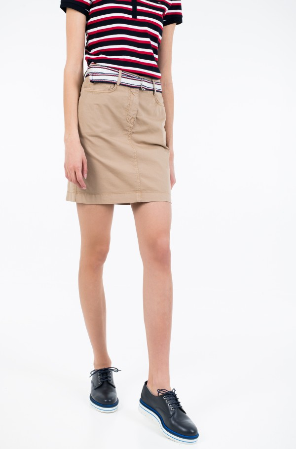 GMD COTTON TENCEL SLIM SKIRT