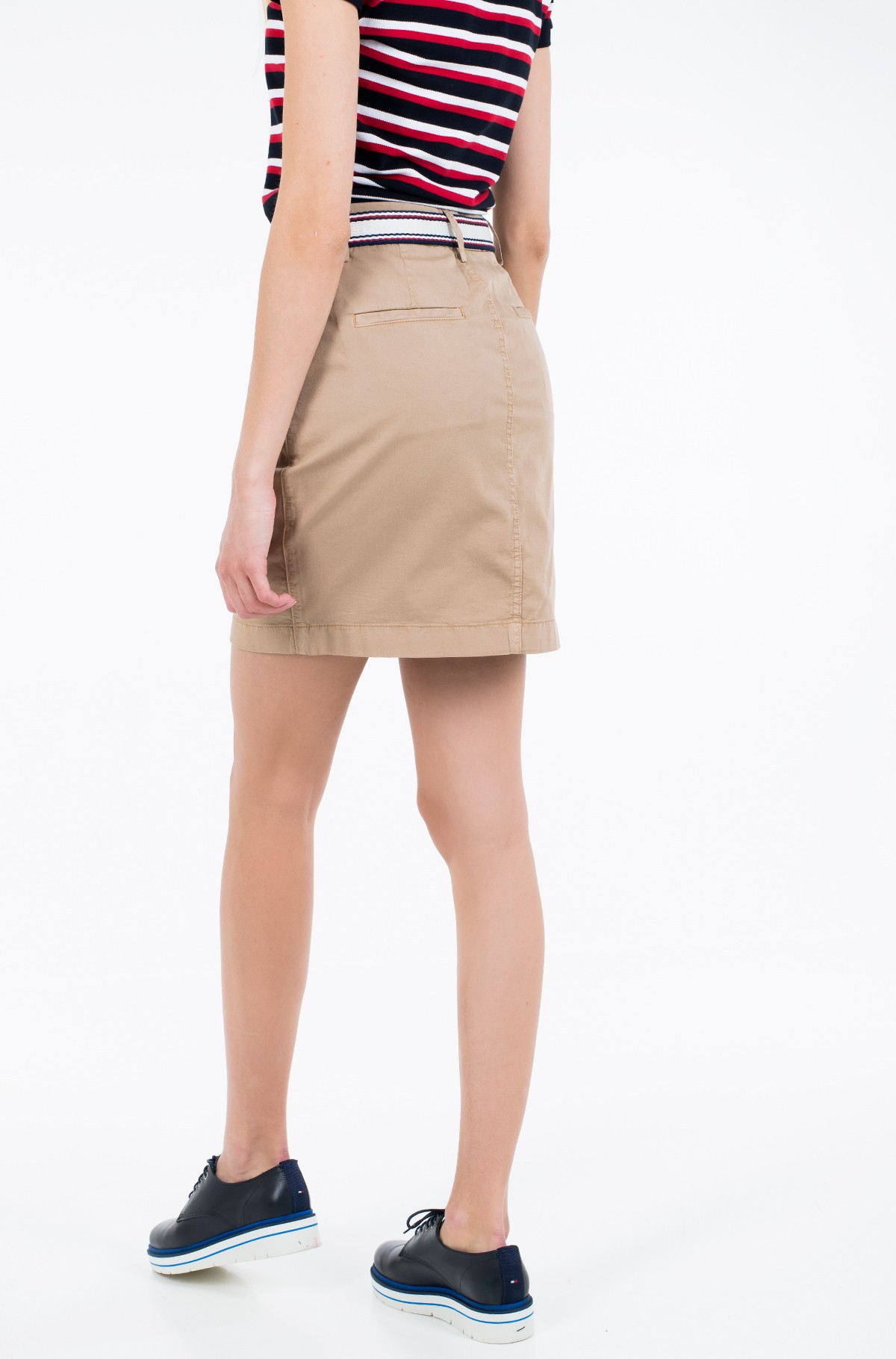 Skirt GMD COTTON TENCEL SLIM SKIRT-full-2