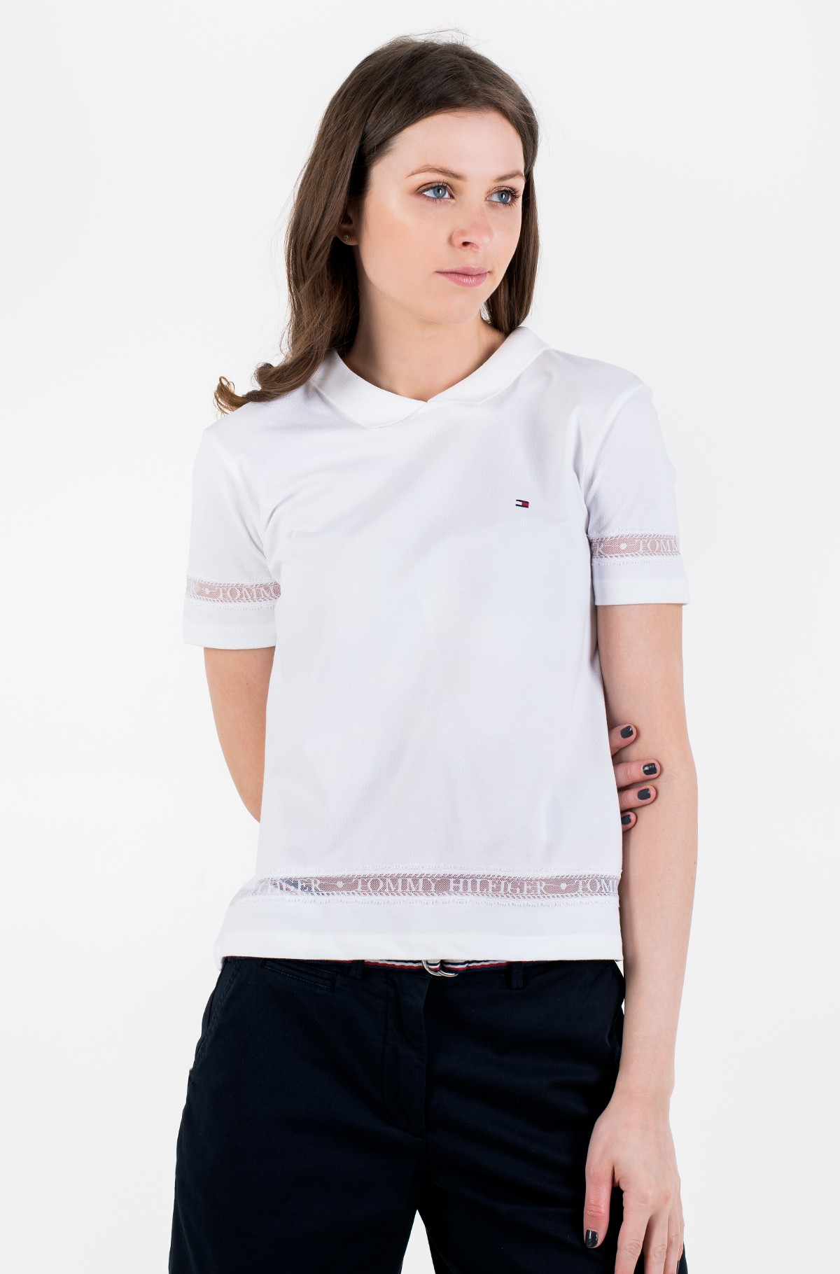 Polo TH COOL VERA RELAXED POLO SS-full-1