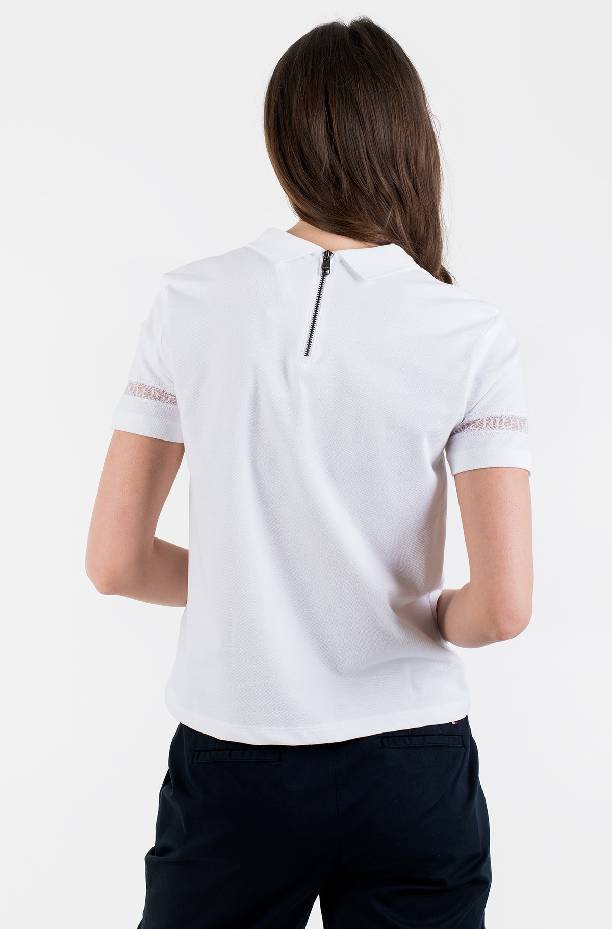 Polo TH COOL VERA RELAXED POLO SS-full-2