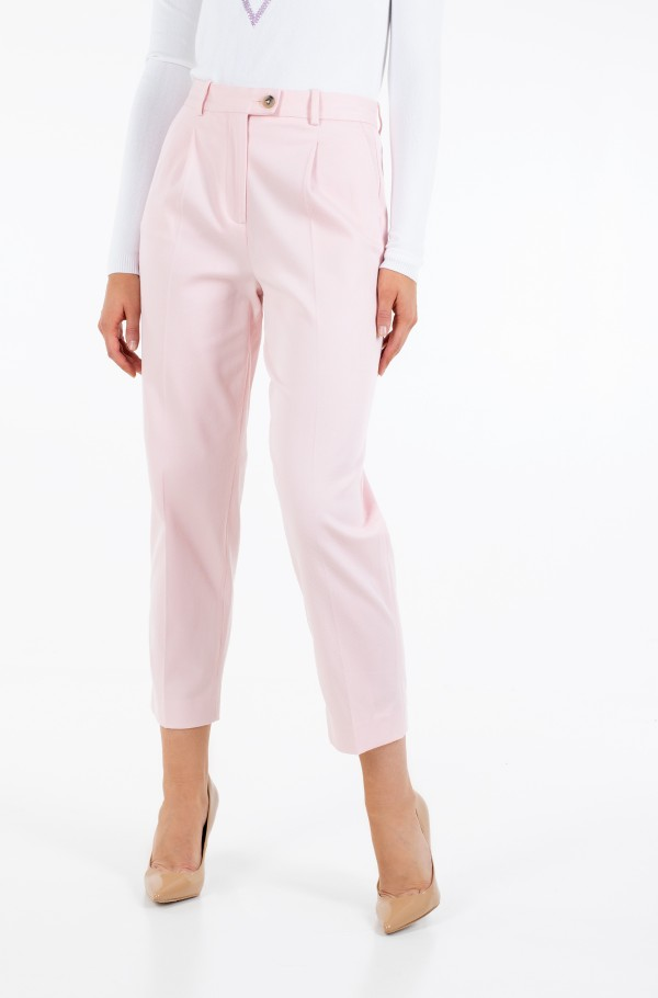 COTTON PASTEL TAPERED PANT-hover