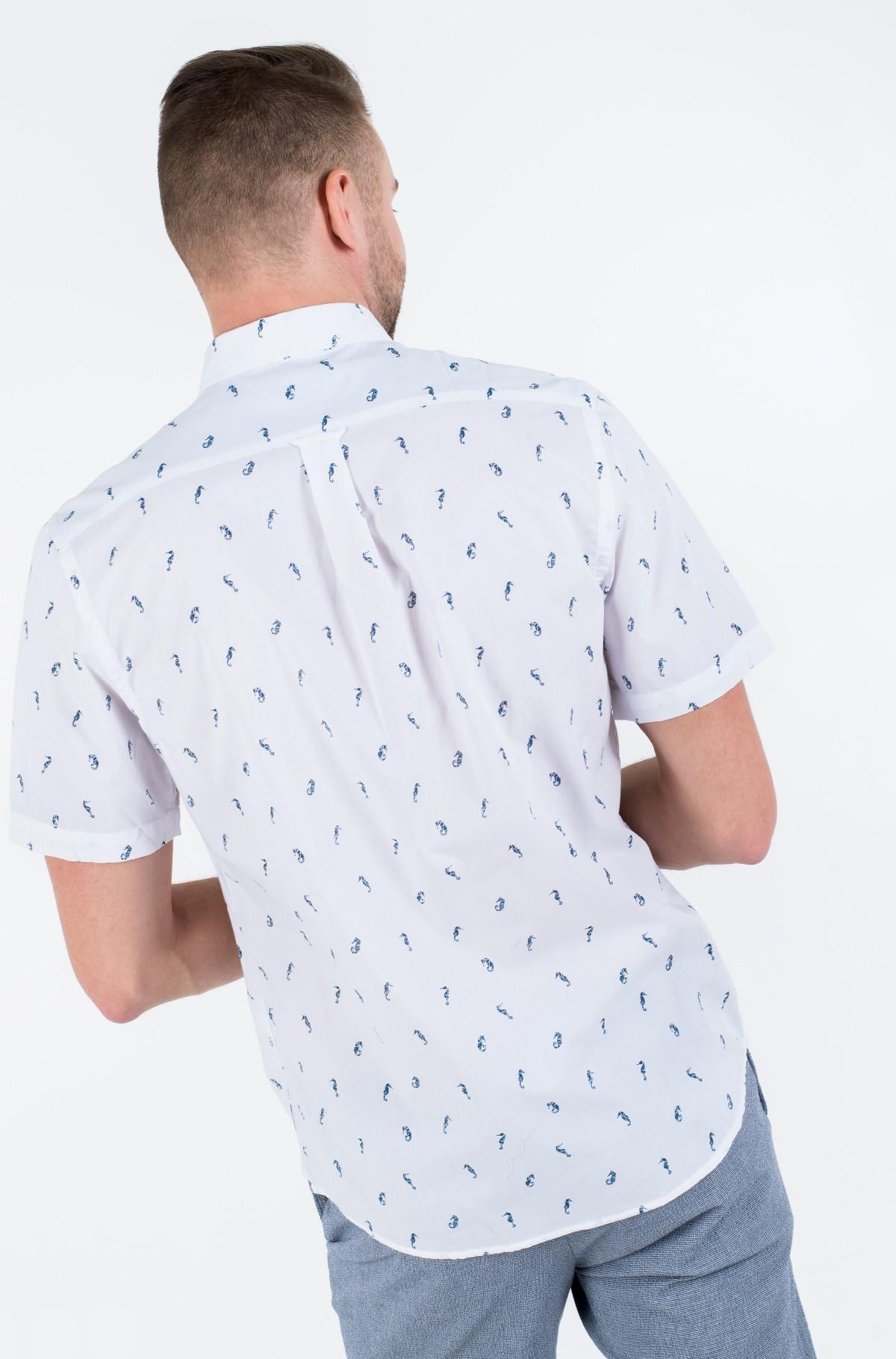 Marškiniai su trumpomis rankovėmis BREEZE SEAHORSE PRINT SS SHIRT-full-2