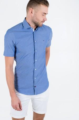 Marškiniai su trumpomis rankovėmis DOBBY CLASSIC S/S SLIM SHIRT-1