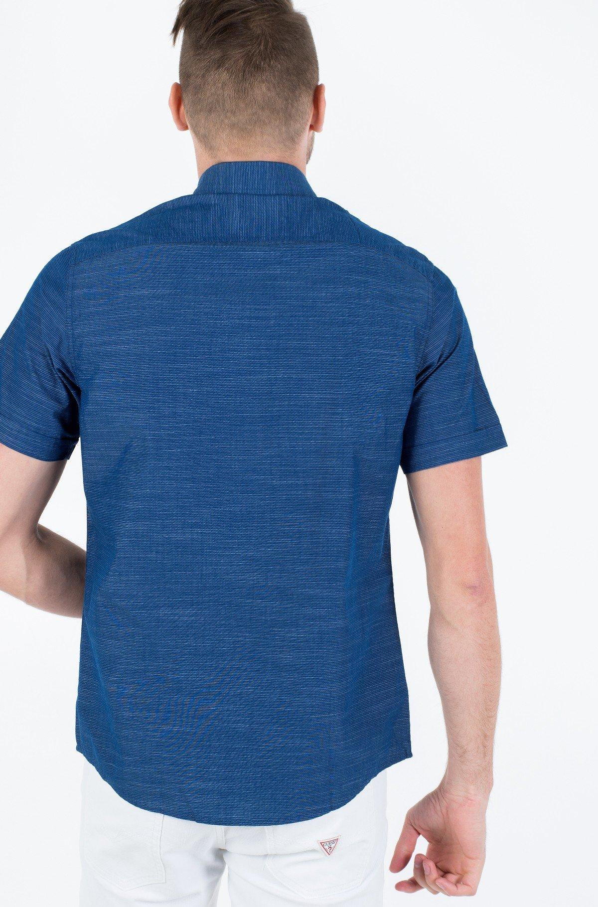 Marškiniai su trumpomis rankovėmis WASHED DOBBY STRIPE SS SHIRT-full-2