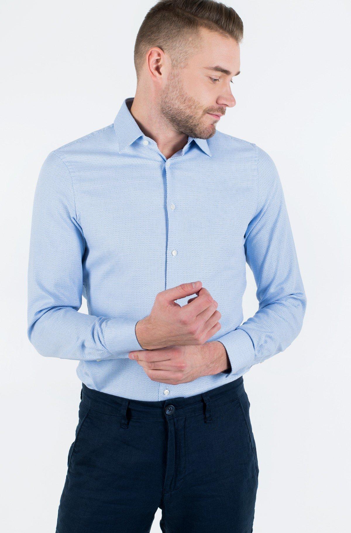 Shirt DOBBY POINT COLLAR SLIM SHIRT-full-1
