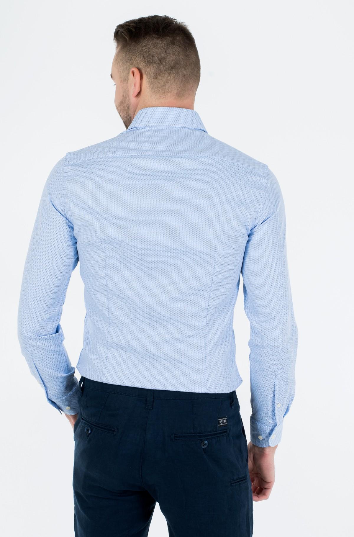 Shirt DOBBY POINT COLLAR SLIM SHIRT-full-2