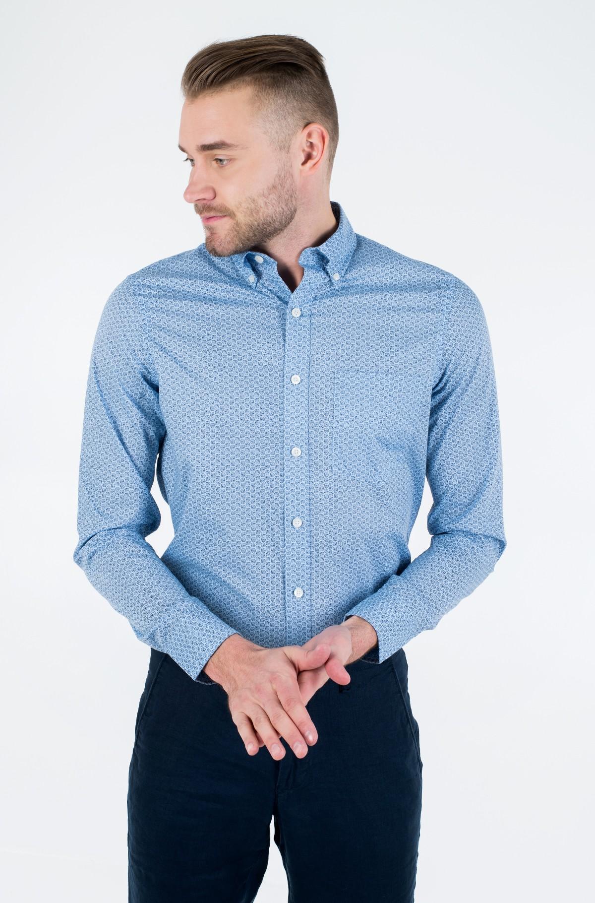 Marškiniai SHELL PRINT BD SHIRT-full-1