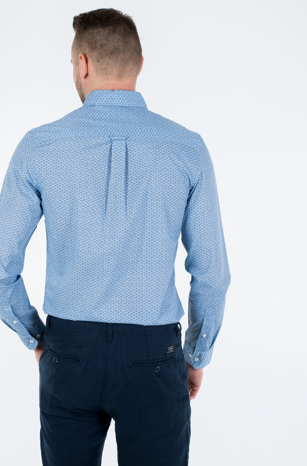 Marškiniai SHELL PRINT BD SHIRT-full-2