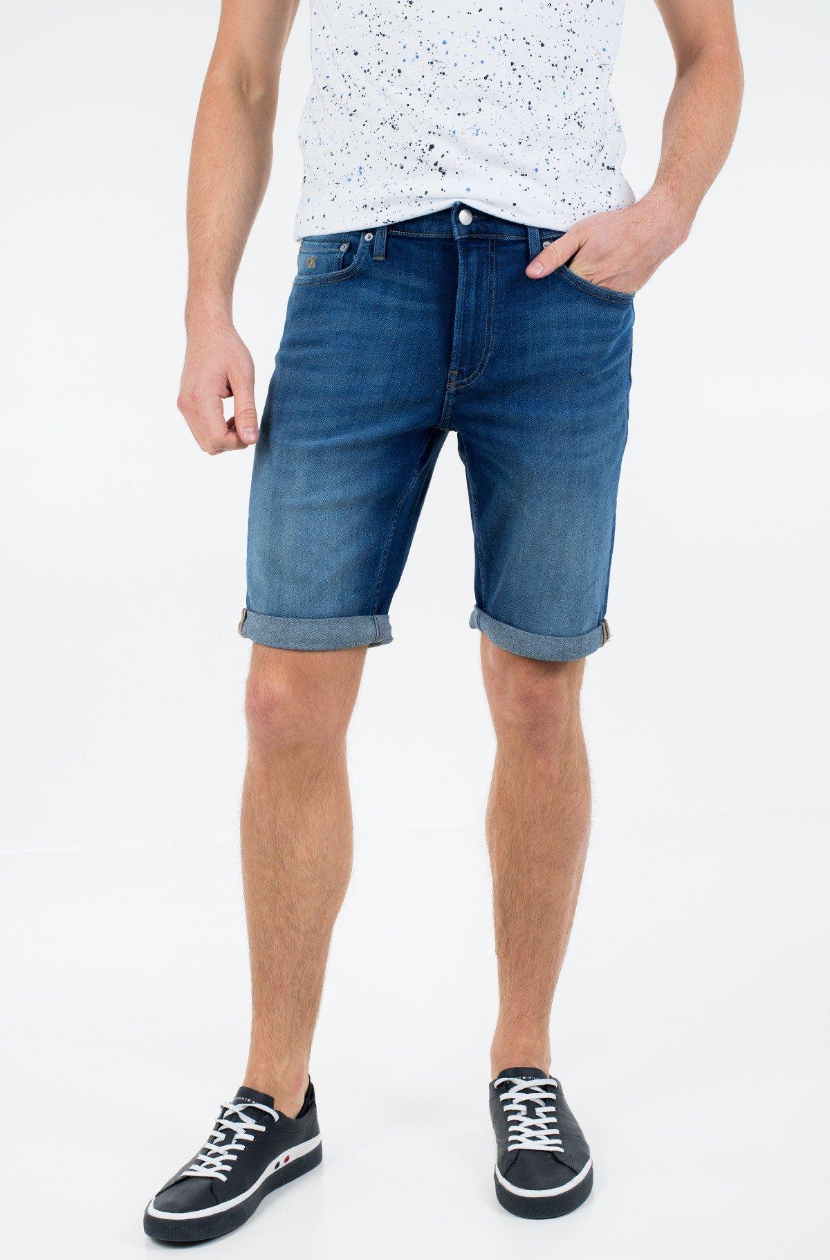 Lühikesed teksapüksid SLIM SHORT J30J314640-full-1