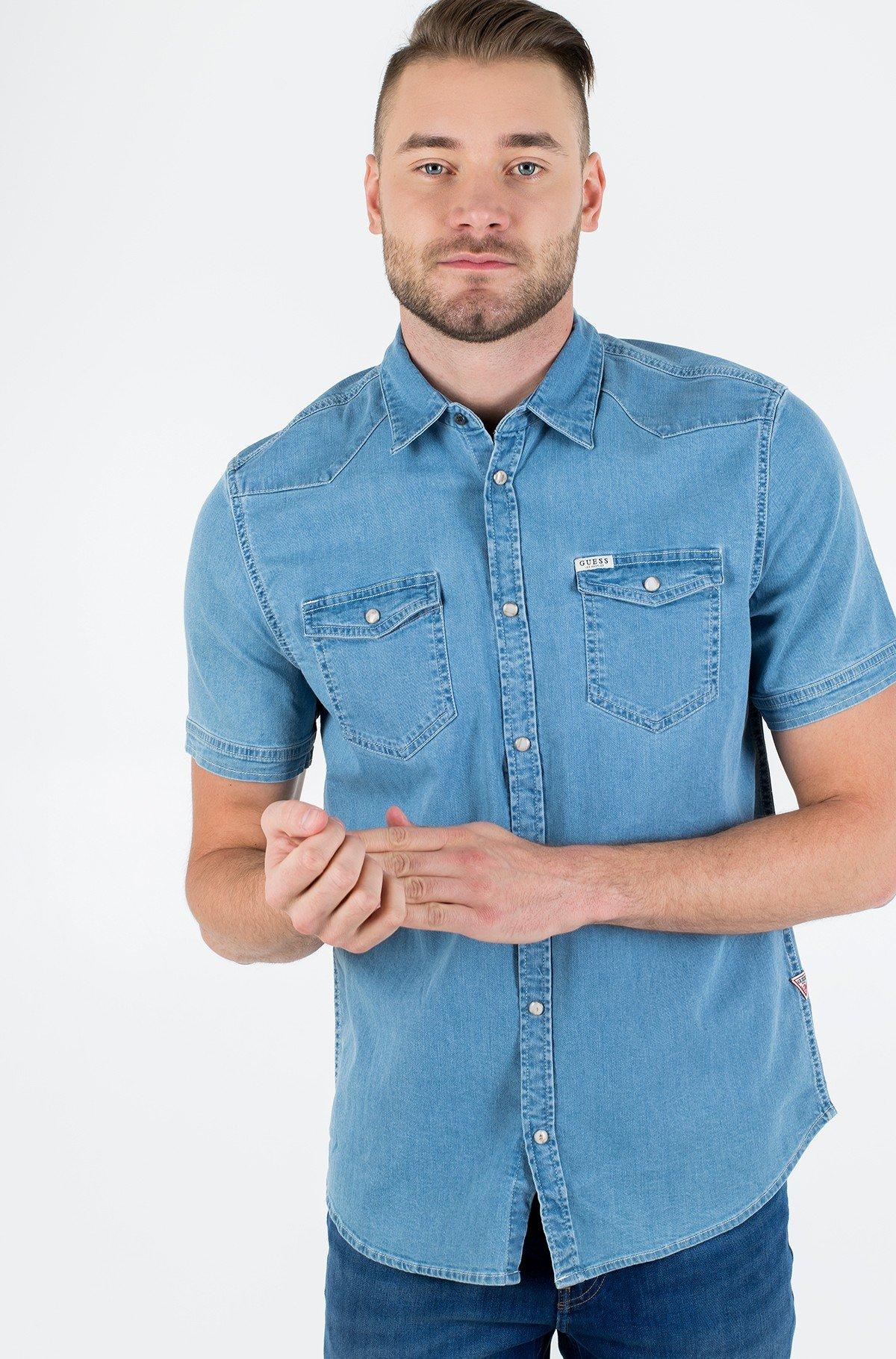 Denim shirt  M02H27 D3YN2-full-1
