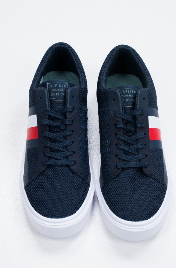 LIGHTWEIGHT STRIPES KNIT SNEAKER-hover