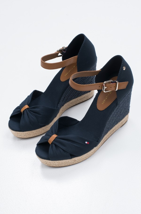 BASIC OPEN TOE HIGH WEDGE-hover