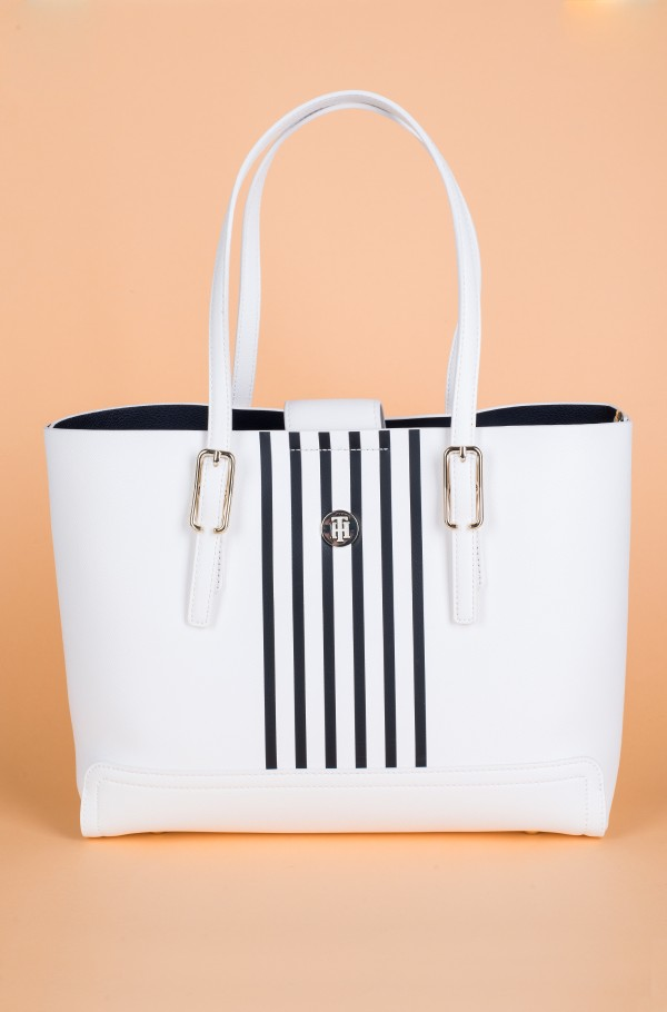 HONEY MED TOTE STRIPE