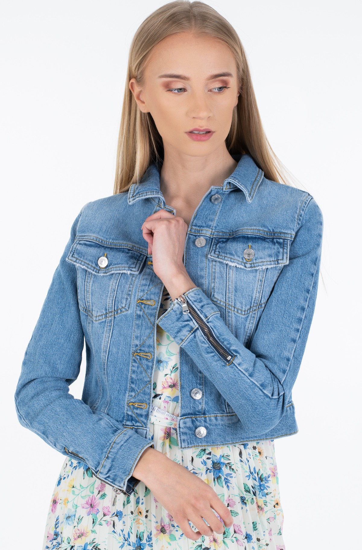 Denim jacket W0GN22 D3LD2-full-1