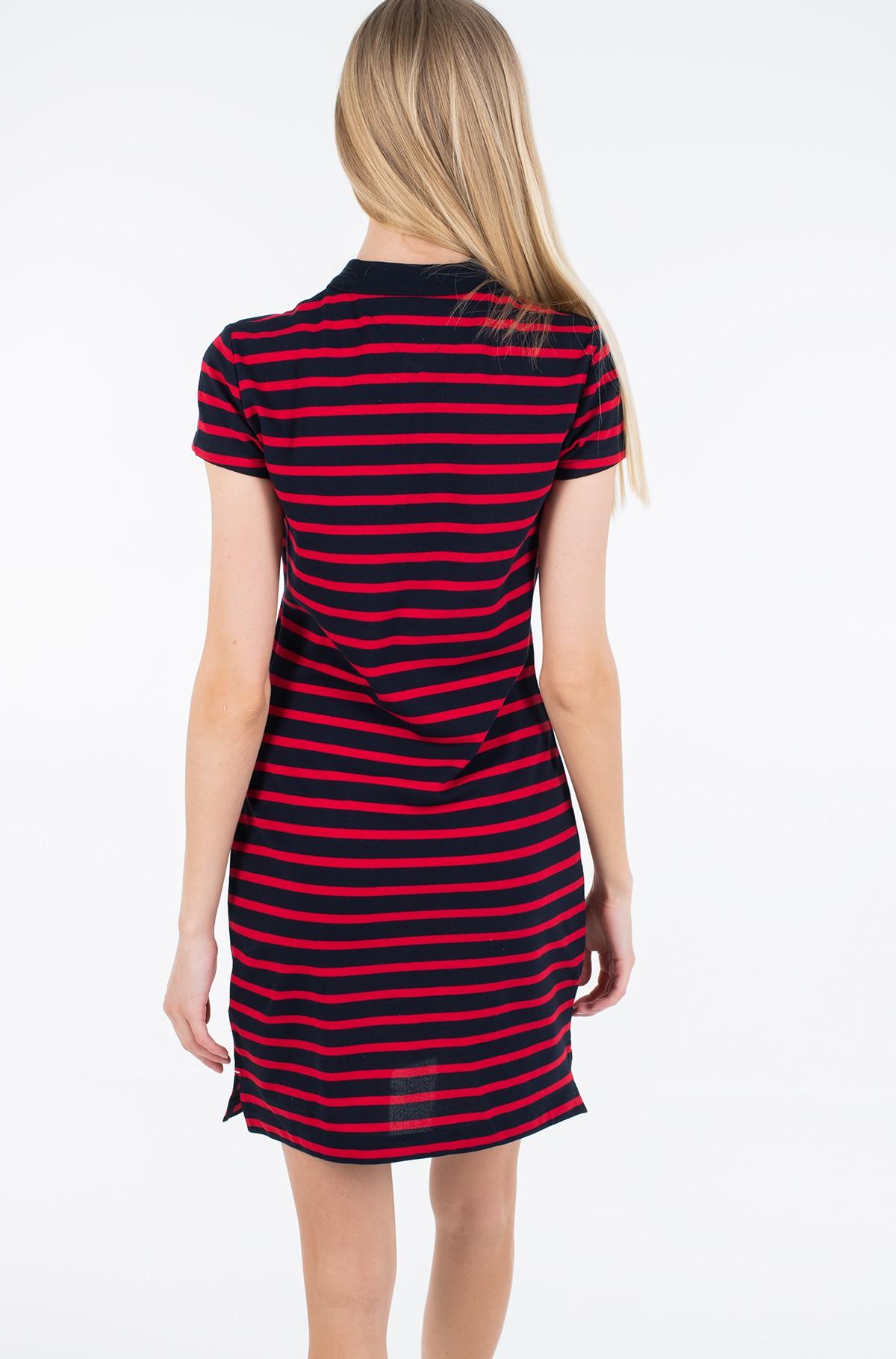 Polo suknelė SLIM STRIPE POLO DRESS-full-2